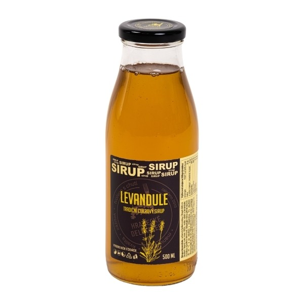 Levandulový sirup – 500 ml