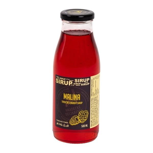 Malinový sirup – 500 ml