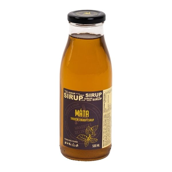 Mátový sirup – 500 ml