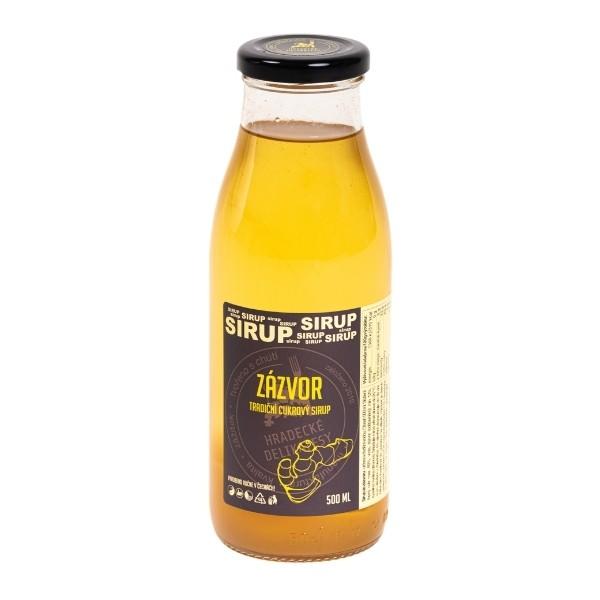 Zázvorový sirup – 500 ml