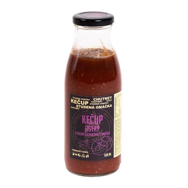 Kečup ostrý – 500 ml