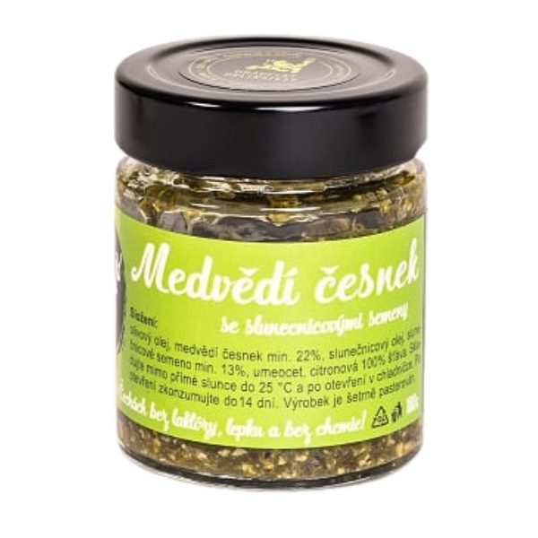 Pesto z medvědího česneku – 100 g