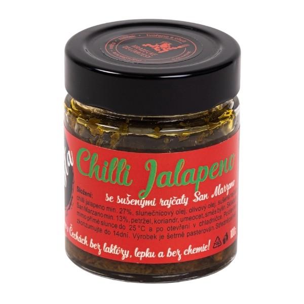 Pasta ze zelených chilli jalapeno – 100g