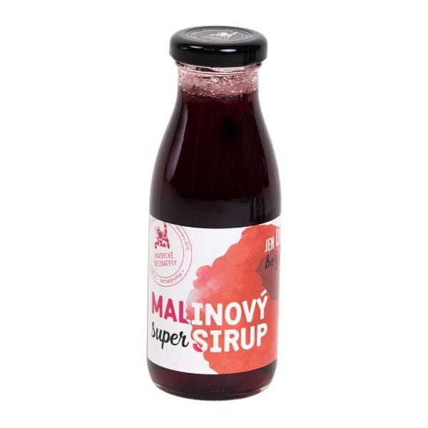 Super sirup – malinová poleva – 250 ml