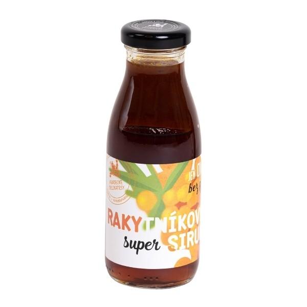 Super sirup – rakytníková poleva – 250 ml