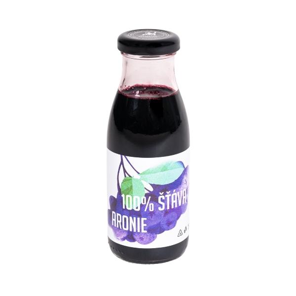 100% šťáva z aronie – 250 ml