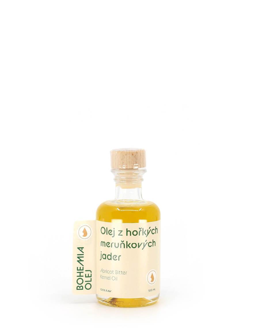 Olej z meruňkových jader nefiltrovaný raw 100 ml