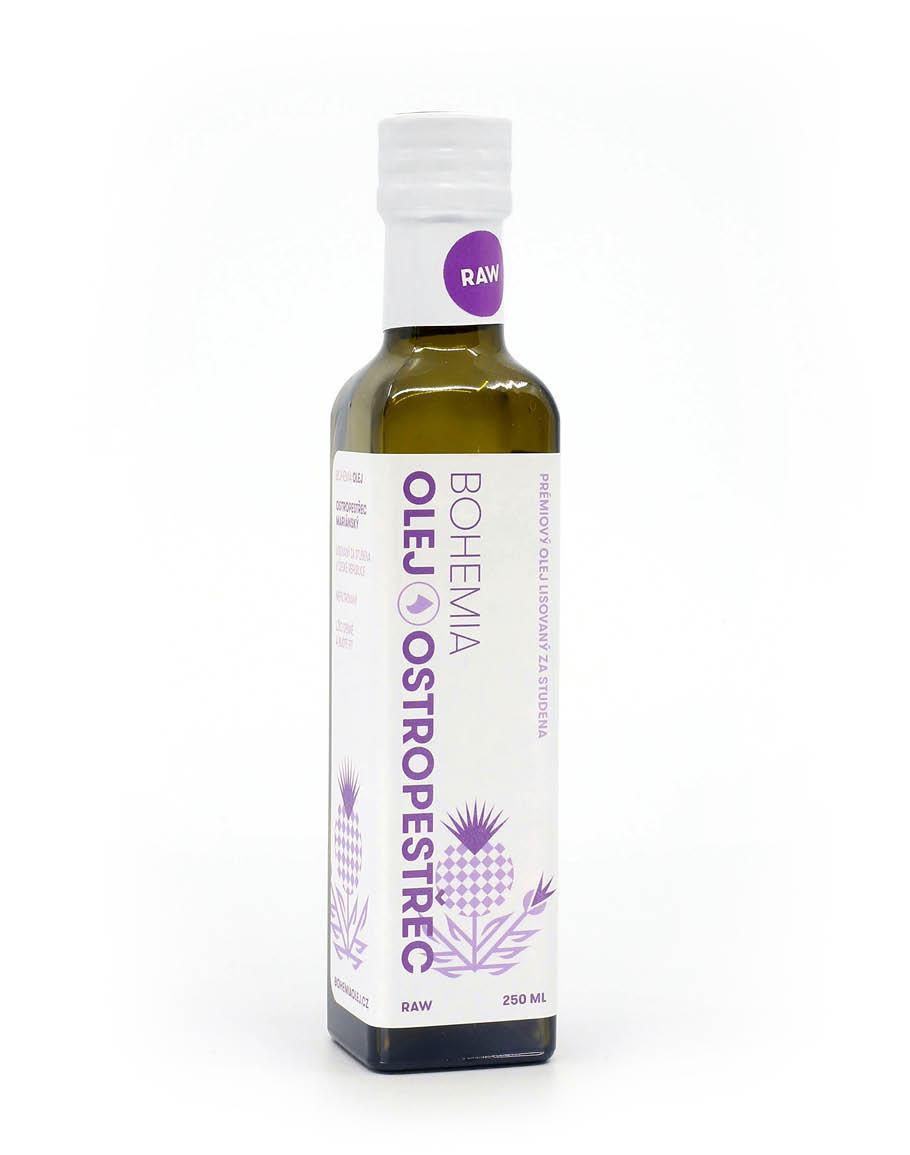 Olej z ostropestřce mariánského 250 ml