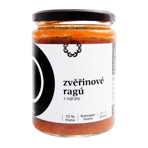 Zvěřinové ragů s rajčaty – 480 g